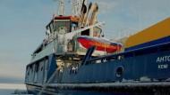 Gewappnet für die Ölkatastrophe in der Arktis