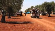 Zehntausende in Syrien auf der Flucht