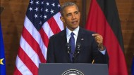 Obama nimmt Europa in die Pflicht