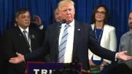 Trump ist Präsidentschaftskandidatur sicher