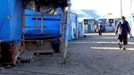 Auflösungserscheinungen im Dschungel von Calais