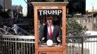 Trump-Wahrsageautomat sorgt in New York für Aufsehen