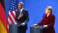 Obama lobt Merkel und warnt vor Russland