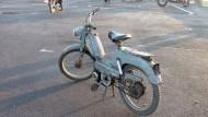 Peugeot-Mofas sind in Marokko Kult