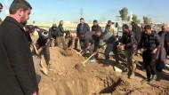 Mossul begräbt seine Toten mehrere Male