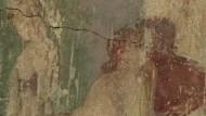 2000 Jahrer alter Kuss in Pompeji zu sehen