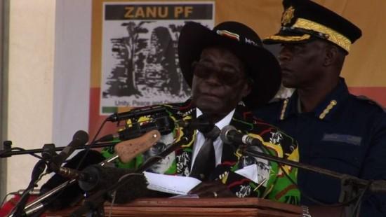 Simbabwes Präsident Mugabe spricht über eigenen Tod