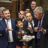 John Bercow setzt sich im Dezember 2018 mit Abgeordneten auseinander.