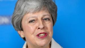 Theresa May will neuen Plan präsentieren