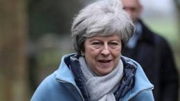 May weist Corbyns Vorschlag einer Zollunion zurück