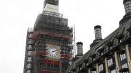 Eigentlich könnte die Uhr am britischen Unterhaus bei kurz vor Zwölf stehen bleiben.