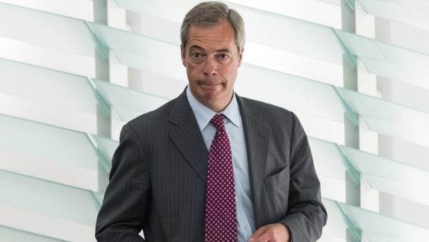Farage verteidigt Brexit-Votum
