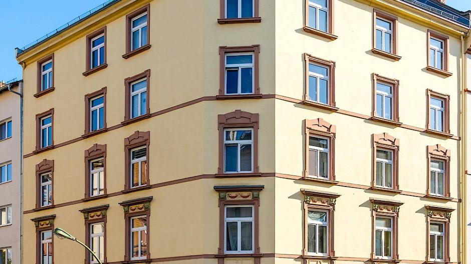 Eckhaus im Frankfurter Nordend