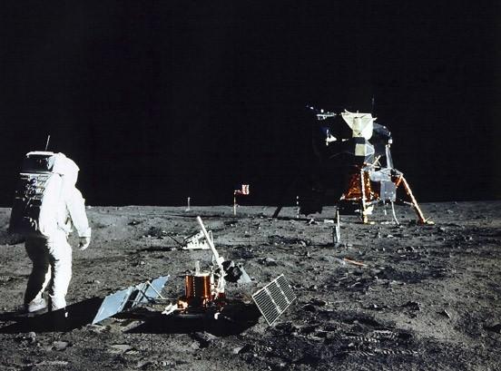 Sehr viel überschaubarer als zunächst vermutet: Mondexpedition von Apollo 11