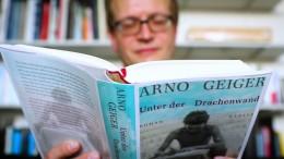 """""""Unter der Drachenwand"""" von Arno Geiger"""