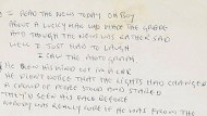 "I read the news today oh boy: Das Manuskript des Lennon-Songs ""A Day in the Life"" ging siebenstellig weg"