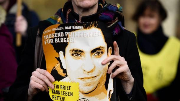 1000 Stockhiebe und 10 Jahre Haft für Raif Badawi