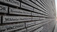"""""""Die polnischen Helden, die das eigene Leben aufs Spiel gesetzt haben, um ihre Nächsten zu retten, haben es verdient, dass man an sie erinnert."""""""