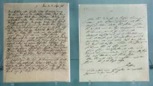 Briefwechsel Goethes und Schillers vom Verfall bedroht