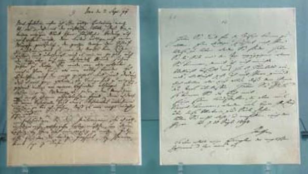 Briefe Von Schiller An Goethe : Weltkulturerbe briefwechsel goethes und schillers vom