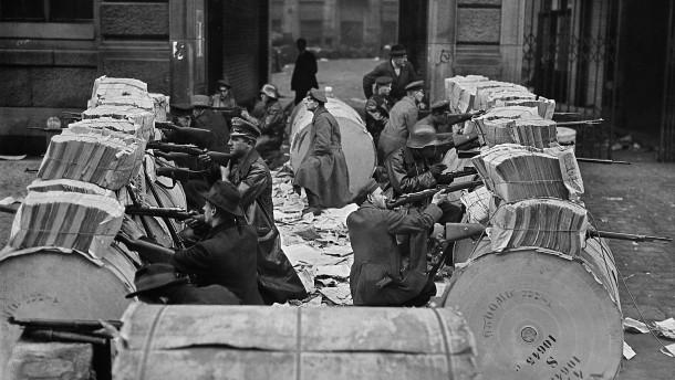 Krieg im Zeitungsviertel