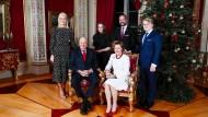 Da geht einem doch das Herz auf: Weihnachten im norwegischen Königshaus steckt sicher voller Wertschätzung.