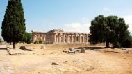 Zwischen Paestum und Capaccio