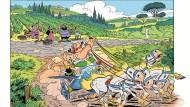Die Umbrier jubeln nicht zwangsläufig den Römern zu, mitunter sogar lieber den Barbaren aus dem Norden: Zwei Gallier lernen Italien kennen.
