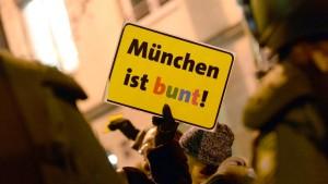 München heuchelt – wohlgemerkt bunt