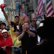 """Protest gegen die geplante Moschee in der Nähe des """"Ground Zero"""""""