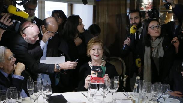 Wichtigster Literaturpreis Frankreichs für Lydie Salvayre