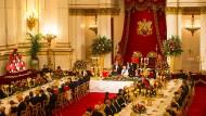 Staatsbankett für den chinesischen Präsidenten Xi Jinping im Buckingham Palace.