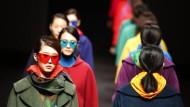 Stilbildend für die fortgeschrittene Verbraucherin: Szene von der Fashion Week in Peking im März dieses Jahres