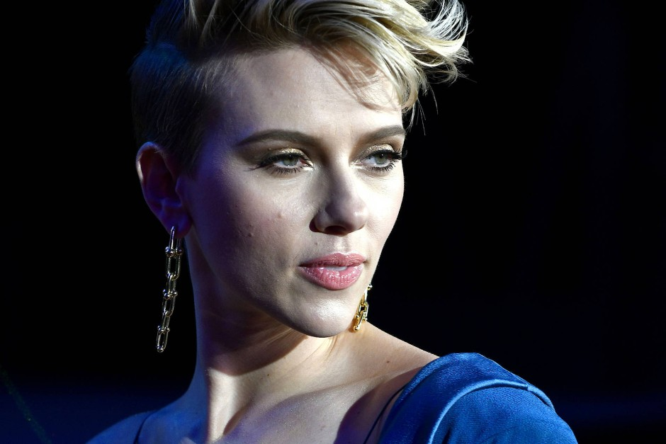 """Scarlett Johansson auf der Premiere von """"Ghost in the Shell"""" im März in Tokio"""