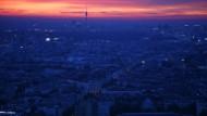 Der Sonnenaufgang am 5. September 2008