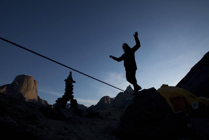 """Für die Reihe """"Bergwelten"""" erkundet: Mount Asgard auf Baffin Island"""