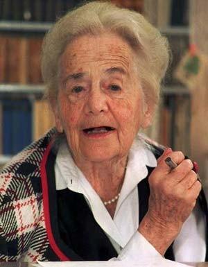 Die Dichterin im Jahr 1997