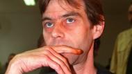 Michael Born im September 1996 bei seinem Prozess im Koblenzer Landgericht