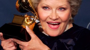 File photo of singer Patti Page at the 41st Grammy Awards in Los Angeles