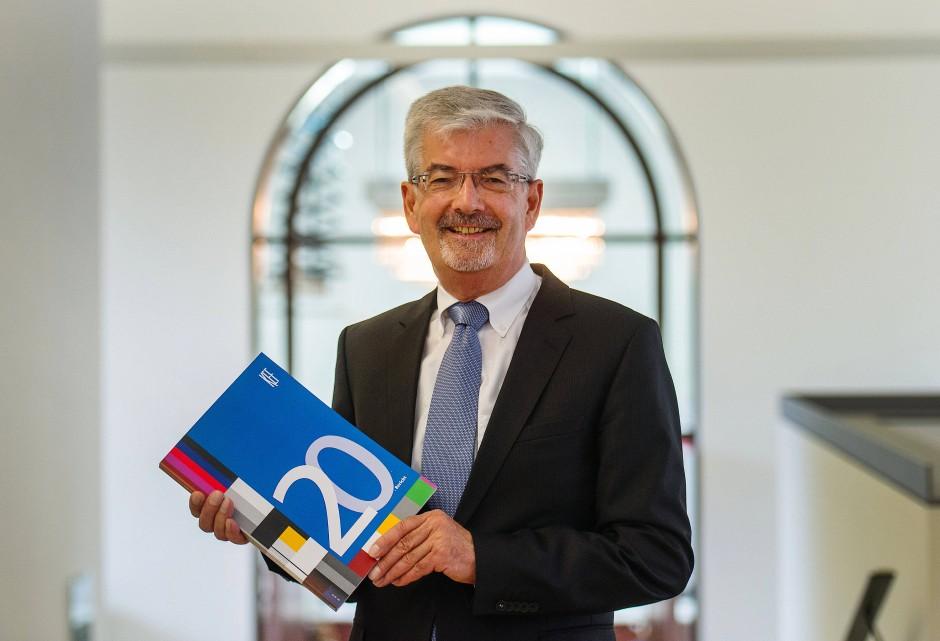 Hat noch einmal nachrechnen lassen: Der Vorsitzende der Kommission zur Ermittlung des Finanzbedarfs der Rundfunkanstalten (KEF), Heinz Fischer-Heidlberger.