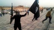 IS-Kämpfer 2014 in Mossul