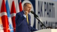 Erdogan beim Parteikongress der AKP in Ankara