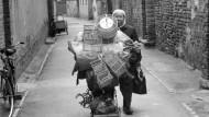 Chinesischer Alltag ist geprägt vom mobilen Kleinhandel, die Modernisierung des Landes hat wenig daran geändert