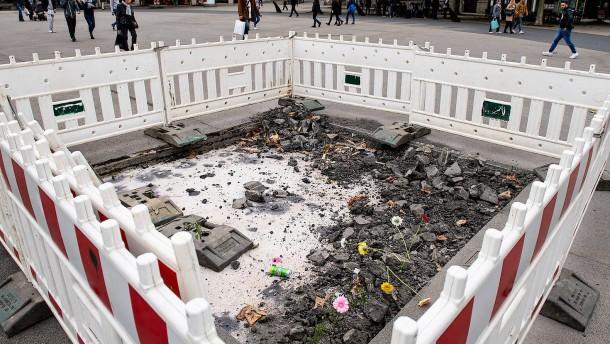 Mahnmal politischer Verhinderung in Kassel