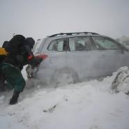 In North Dakota steht man nicht nur im Winter mitunter vor ganz eigenen Schwierigkeiten.