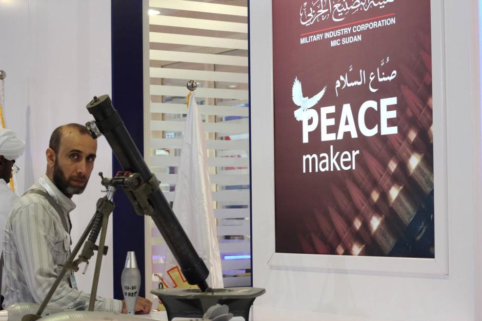 Für den Frieden: Waffen aus dem Sudan.