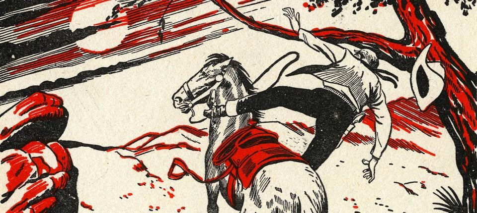 Wer schießt den Cowboy aus dem Sattel?