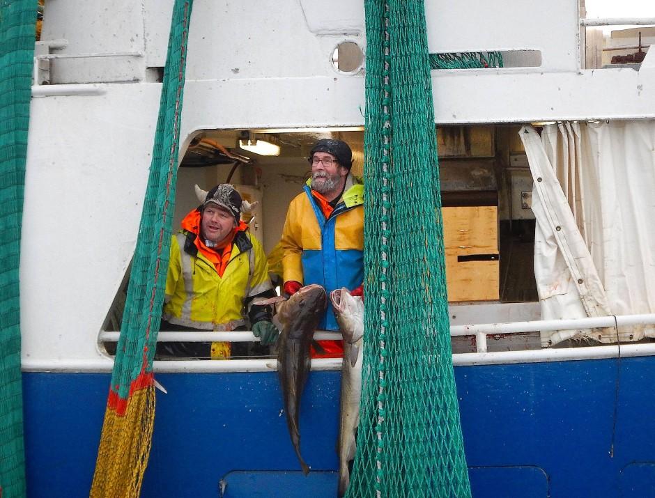 Jeder zehnte der fünfhundert Einwohner von Henningsvær ist noch in der Fischerei tätig.