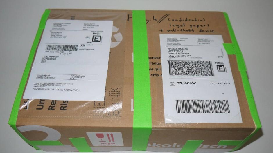 Ein Paket für Julian Assange