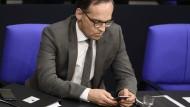 Schützt das Volk vor gefährlichen Satiretweets: Justizminister Heiko Maas.